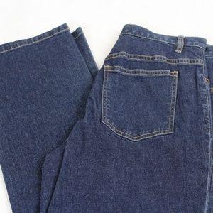 Sigrid Olsen Modernist Dark Straight Leg Jeans